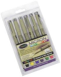 pigma micron bible study kit 6pk g t luscombe amazon co uk