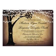 Tree Wedding Invitations Oak Tree Wedding Invitations U0026 Announcements Zazzle Com Au