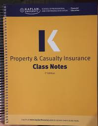 property casualty insurance li kaplan financial education