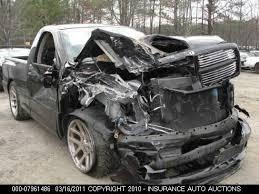 wrecked dodge trucks rip pics of wrecked srt10 s dodge ram srt 10 forum viper