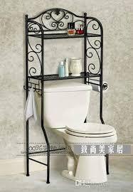 Wrought Iron Bathroom Shelves 2018 The New Wrought Iron Shelf European Style Bathroom Toilet