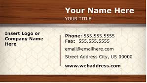 Free Avery Business Card Template by Microsoft Works Business Card Templates Microsoft Office Business