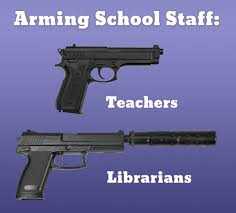 Building Memes - school librarians impassioned response to call to be armed