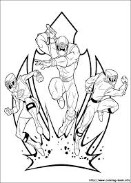 power rangers force coloring pages coloring