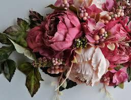 Wedding Flowers Peonies Wedding Centerpiece Flowers Arrangement Centerpiece Silk Wedding