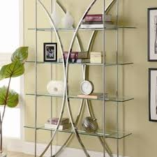 Glass Enclosed Bookcases Glass Bookcases You U0027ll Love Wayfair