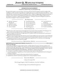 Sample Resume Format Resume Template by Manager Resume Example