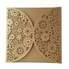 online shop 100pcs wholesale single flower invitations cards for