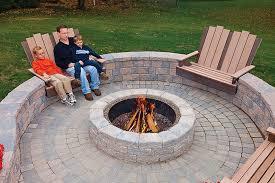 Build A Firepit Build Firepit Seating Furniture Decor Trend Appealing Ideas