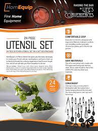 ustensil cuisine amazon com 24 kitchen utensil set heat resistant