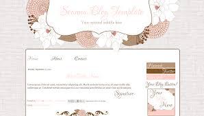 cute pink modern blog template juliana bd web studio
