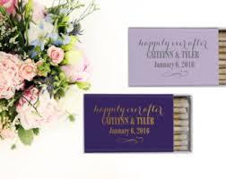 personalized wedding matches wedding matches etsy