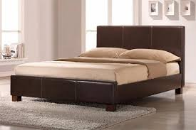 Cheap Bed Cheap Bed Frame Double Size Leather Beds With Memory Foam Mattress
