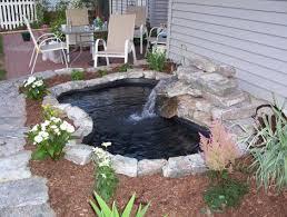Pond In Backyard by Best 25 Diy Waterfall Ideas On Pinterest Diy Fountain Diy