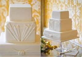Art Deco Wedding Art Deco Wedding Cakes Cake Geek Magazine