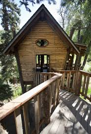 splendid tree house platform design ideas with small wooden bridge