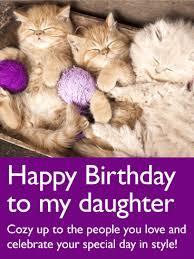 animal birthday cards for daughter birthday u0026 greeting cards by