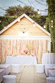 Wedding In Backyard by Best Backyard Weddings Linentablecloth