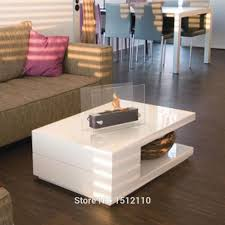 bio ethanol table top fireplace for indoor and outdoor use home
