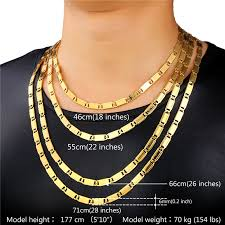 mens fashion necklace images Gold link bracelet mens unique gold chain for men necklace men s jpg