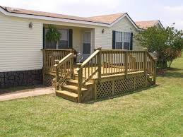 Decking Kits With Handrails Mobile Home Deck Kits U0027 Projects To Try Pinterest Decking