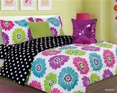 Girls Pink And Black Bedding by Bed Set I Got This Purple Teal And Lime Green Comforter D