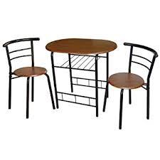 Espresso Bistro Table Target Marketing Systems 3 Bistro Dining Set
