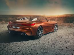 bmw bmw unveils new z4 concept sports car at pebble beach business
