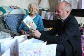 100th birthday congratulations to cloughfern parishioner may the