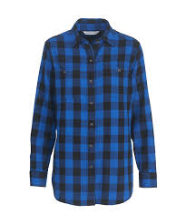 women u0027s buffalo check flannel shirt by woolrich the original
