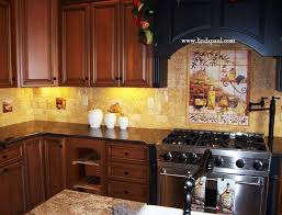 tuscan backsplash tile murals tuscany design kitchen tiles - Tuscan Kitchen Backsplash