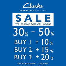 bca aeon aeon mall bsd city on twitter clarks special promo with bca credit