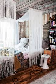 Bohemian Bed Canopy These Bedroom Canopies Look Out Of A Ski Chalet