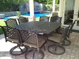 Cast Aluminum Patio Chairs New Aluminum Patio Furniture Cast Dining Set Inside Cleaning Ideas