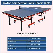 Table Tennis Dimensions All 3 Sizes Download Image Ping Pong Table Dimensionstable Tennis