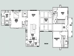 house plan l shaped home plans with open floor bungalow