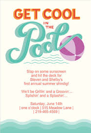 pool party invitations pool party free printable party invitation template greetings