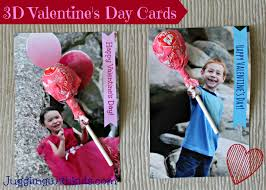 3 d valentine day cards again u2013 juggling with kids