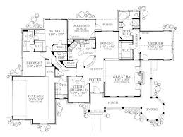 open floor plan house plans one story 358 best house plans images on mediterranean house