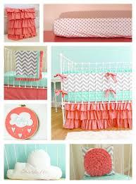 Navy And Coral Crib Bedding Nursery Beddings Navy White Baby Bedding Plus Coral Crib Bedding