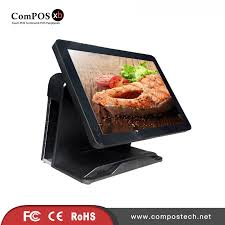 cuisine casher register retail restaurant pos all in one pc 15 inch casher