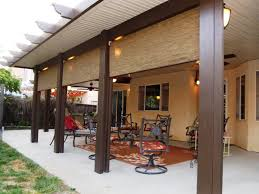 Patio Roofs Designs Backyard Covered Patio Designs How To Attach A Patio Roof To An
