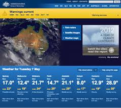 bureau of metereology a design taking users by bureau of meteorology study