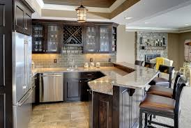 built in wine bar cabinets home wine bar cabinet home bar traditional with pendant light
