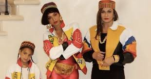 Tina Halloween Costume Beyonce Blue Ivy Channel Salt Pepa Halloween Weekly