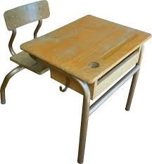 petit bureau ecolier bureau d écolier vintage retro cosy