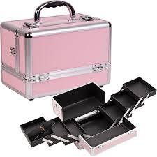 sunrise aluminum makeup train cosmetic jewelry case cosmetic
