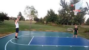 alec 13 years old shooting practice in backyard youtube