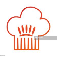 symbole cuisine chapeau de la cuisine du chef cuisson symbole restaurant clipart