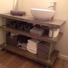diy bathroom vanity ideas 38 bathroom vanity open shelves shelves furniture vanity shelf